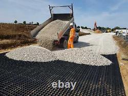 Grilles De Base De Couverture Grilles De Base De Construction 5x5 Pieds / 1,5x1,5m Bases En Plastique Eco Grid
