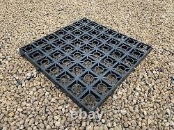 Kit De Grille D'allée Perméable Eco Parking Gravel Drive Stabilité + Membrane 50 Sqm