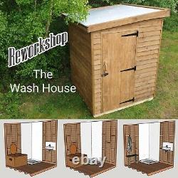La Maison De Lavage, Compostage Toilettes, Salle De Bain Hors Réseau, Camping, Glamping Eco Loo