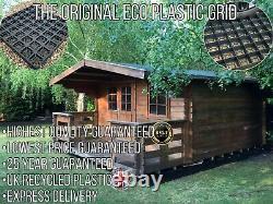 Log Cabine Base Grid Foundation 12x10 Pieds Ou 4x3m Ecogrid Base Fondements