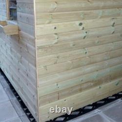 Slabs En Plastique Jardin Shed Greenhouse Base Grid Eco Gravel Grids + Membrane