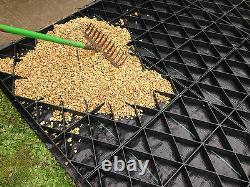 Utilisation Multi De La Base Eco Kit 20x12ft Pour Le Parcage De Grid De La Voie Durée + Membrane