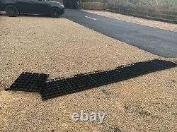 X100 Gravel Grid Grass Gross Grid Drive Grids Permeable Drainage Slabs Plastiques Eco Pavingsm